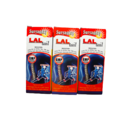 Ayurvedic Pain Oil, Lal Tail 60ml ( combo pack of 3 )