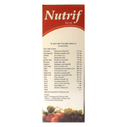 BUY GOOD HEALTH FOR NUTRIF SYRUP (PACK OF-3)