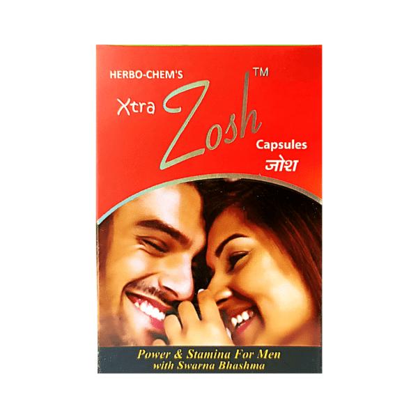 BUY AYURVEDIC XTRA ZOSH CAPSULES For Men (Pack of 3)