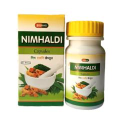 Buy Biswas Nim Haldi Capsule For Soft And Healthy Skin (Pack of 3)
