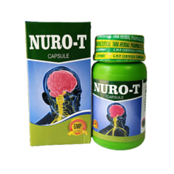 Buy Ayurvedic NURO-T Capsule For Improved Nervine Systems (Pack of 3)