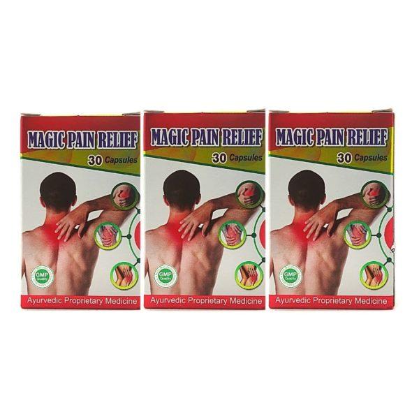 Magic pain relief capsule