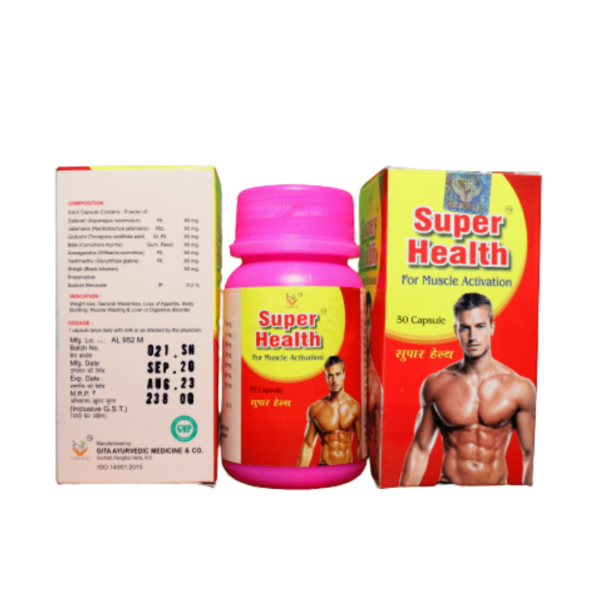 Super Health For Muscle Activation