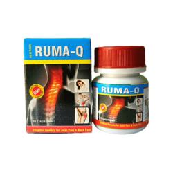 Buy Ayurvedic Pain Killer Ruma-Q Capsules For Joint Pain (Pack of 3)