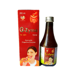 Buy Ayurvedic Digetive Enyme, G-Zyme Syrup - 200ml; Pack of 1