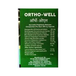 Buy Ayurvedic Pain Killer Medicine, Ortho-well; 30 Capsule
