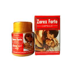 Buy Sexual Wellness- Zorex Forte Capsule For Men & Women (Pack of 3)